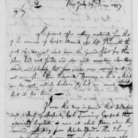 Samuel Culper to Benjamin Tallmadge, June 29, 1779